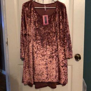 Other - Never worn! Crushed velvet